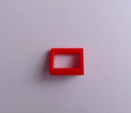 Tegel met hendel rood (2432)