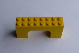 Poort 2x8x3 geel (4743)