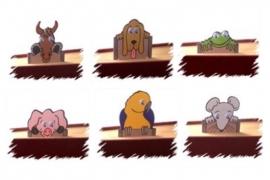 Kinderboekenlegger Animal Writes