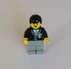 Agent met snor (cop035)