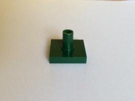 Tegel 2x2 met pin donkergroen (2460)