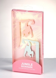 Jungle bookmark Chimpansee