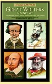 "Magneten ""Great Writers"""