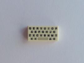 Tegel met simpel toetsenbord (3069bp80)