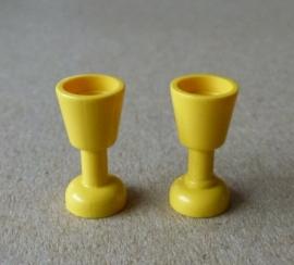 Wijnglas geel (2343)