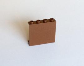 Paneel 1x4x3 bruin (4215b)