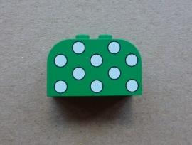 Steen groen met stippen (4744px2)