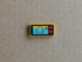 Tegel met onderwater navigatie (3069bpx11)