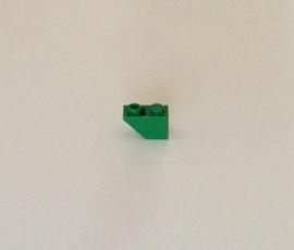 Omgekeerde helling 1x2 groen (3665)