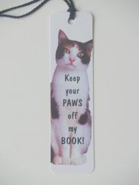 Boekenlegger Kat