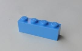 Steen 1x4 medium blauw (3010)
