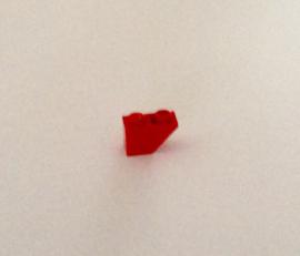 Omgekeerde helling 1x2 rood (3665)