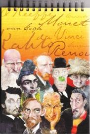 Schetsboek Great Artists