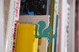 Jungle bookmark Squirrel