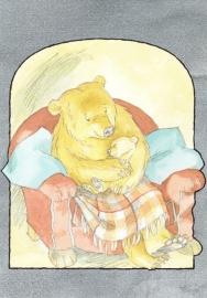 Kaart Waar ben je, Kleine beer?