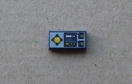 Tegel met controlepaneel voertuig (3069bpc1)