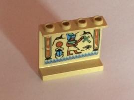 Paneel met Egytpische opdruk 1 (4215pb013)