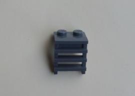 Plaatje 1x2 met ladder blauwig donkergrijs (4175)