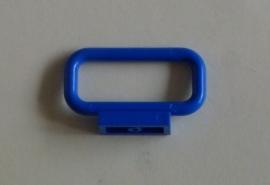 Afgerond hekje/bar blauw (6187)