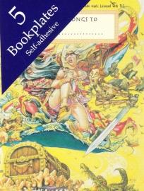 Discworld ex libris plaatjes