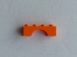 Boog 1x4 oranje (3659)