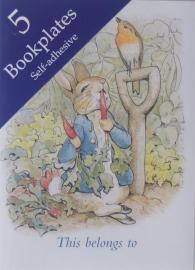 Beatrix Potter ex libris plaatjes