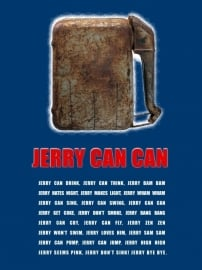 Plint poster Jerry can can