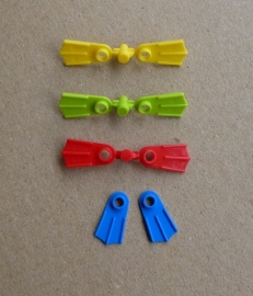 Twee Lego flippers (2599)