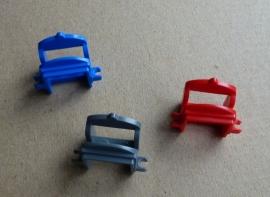 Zadel paard (4491b) 2 clips