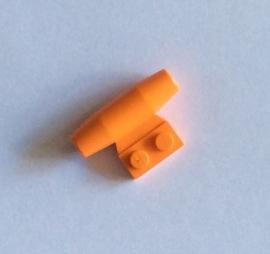 Vliegtuigmotor oranje (3475b)