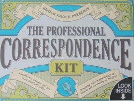 The professional correspondence kit