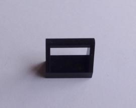 Tegel met hendel zwart (2432)