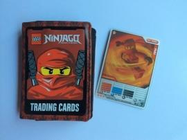Ninjago trading card mapje met kaart Kai