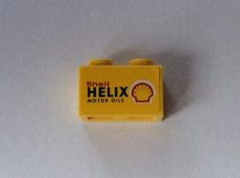 Shell steentje Helix geel (3004pb068)