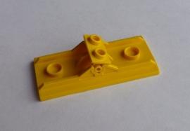 Scharnierpaneel 6x3 geel (2440)