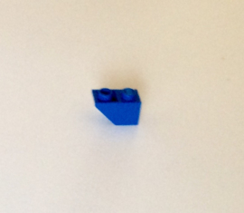 Omgekeerde helling 1x2 blauw (3665)
