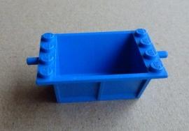Lego wagonbak blauw (818)