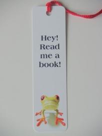 Boekenlegger Kikker