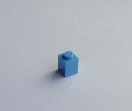 Steen 1x1 medium blauw (3005)