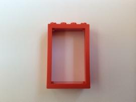 Rood deurkozijn (4130)