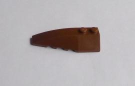 Wig 6x2 links bruin (41748)