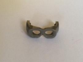 Donkergrijze bril (30170)