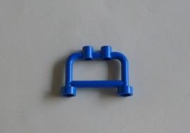 Hekje/bar blauw met twee noppen (4083)