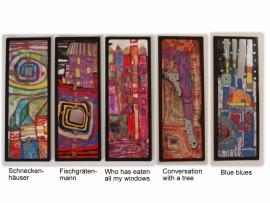 Boekenlegger Hundertwasser