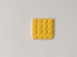 Scharnierend dakdeel 4x4 geel (4213)