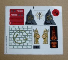 Stickervel City of Atlantis