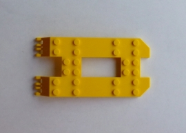 Trailer basis 6x12 geel (30263)