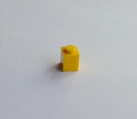 Steen 1x1 geel (3005)