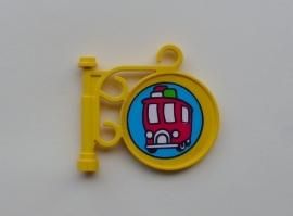 Uithangbord bushalte (x222pb05)