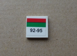 Tegel 92-95 (3068bpb212) sticker